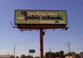 Spelling mistake on billboard