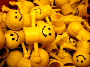 Yellow smiley faces